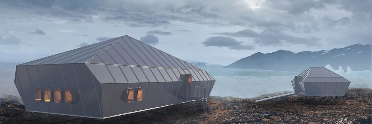 Eco Nelson Station Antartica